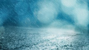 clatter blue light rain wallpaper